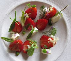 NOMA Danish fresh strawberries - simple simple simple perfect beauty