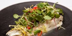 Andrew MacKenzie steams his fish 'en papillote' to enhance the delicate flavour of plaice, served simply with ginger and soy