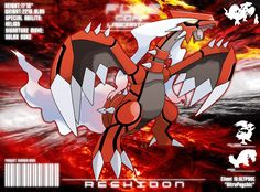 Groudon + reshiram fusion