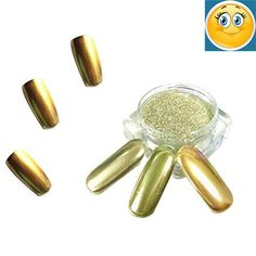 1g/ Box Gold Sliver Nail Glitter #Powder Shinning Nail #Mirror Powder Makeup Art DIY Chrome Pigment Feature: 100% brand new and high quality Material: Powder Colo...