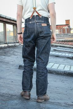 For Holding Up The Trousers x Tender Co. Jeans Raw Denim 869d21f248294