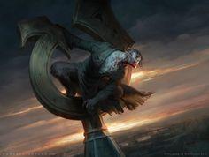 MtG Ravenous Bloodseeker by depingo.deviantart.com on @DeviantArt