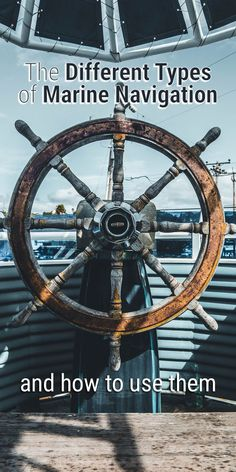 There are a lot of different marine navigation methods, instruments, and systems to navigate the seas. In this article, I'll explain most of them, including the navigational instruments that are most used by sailors today. Sailboat Living, Living On A Boat, Sailing Gear, Sailing Ships, Ocean Sailing, Sailing Lessons, Sailing Basics, Liveaboard Sailboat, Boat Navigation