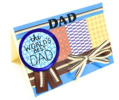 Are you planning to surprise your dad this Father's Day? Make beautiful bow with mini Bowdabra & design DIY card for your dad on Father's Day with ribbons, bow wire & Bowdabra bow making tool. Diy Father's Day Crafts, Fathers Day Crafts, Crafts To Make, Paper Crafts, Holiday Crafts, Holiday Ideas, Au Pair, Father's Day Activities, Cardmaking And Papercraft
