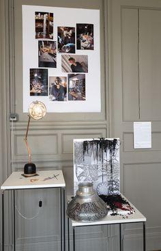 Sylvie Capellinon - 1P2L - créatrice de luminaires et bijoux photo JY Le Dorlot