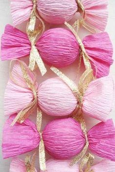 Party Favor DIY Bags - Pretty Bridal Shower Favors  - Photos