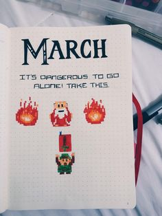 Naturally my first bullet journal cover page would be Zelda themed! Not amazing but Im proud of it.  Visit blazezelda.tumblr.com