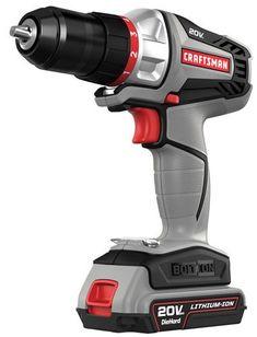 Craftsman -16496 - Bolt-On 20 Volt MAX Lithium Ion Drill/Driver Kit