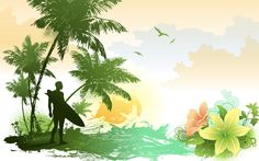 Nature HD Vector Wallpapers
