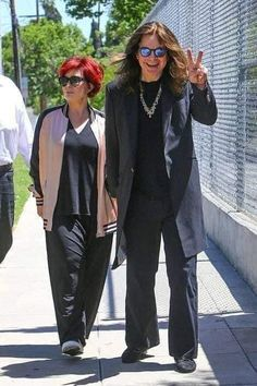 Ozzy And Sharon Osbourne, Ozzy Osbourne, Its A Mans World, Celebs, Celebrities, Daughter, Hipster, Collection, Darkness
