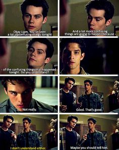 *crying with laughter* teen wolf season 4