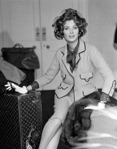 Suzy Parker Photographie d'Henry Clarke 1960 Vogue British Vogue, décembre