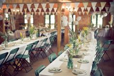 I want the Mess Hall to be able to transform for our needs---banners!? yes! decor? move tables and have a dance floor? YES!