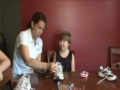 ▶ learn to tie shoes with TAGteach - YouTube