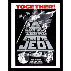 Framed Print Mounted Together! | Star Wars | Elephant Bookstore