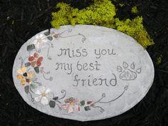 Pet Memorial, Pet Grave Marker, Dog Grave Stone, Pet Grave Stone, Engraved Pet…