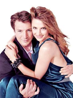 Castle: Nathan and Stana