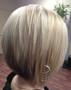 Super short bob hairstyle