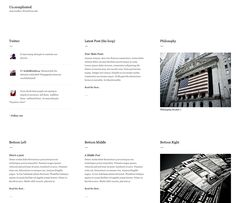 Un.complicated « Siiimple - Minimalist CSS Gallery