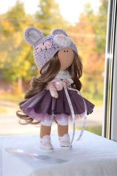 Купить Тедди-малышка осень-зима2015 - тильда, кукла интерьерная, кукла в подарок, кукла текстильная