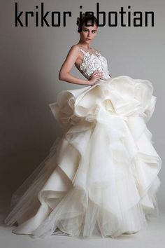 Krikor Jabotian Haute Couture Dress 2013/2014