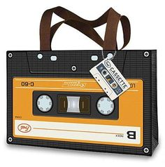 Cassette tape bag #bags #totes