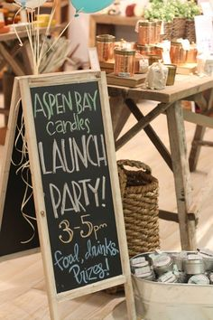 New Aspen Bay Candle collection Launch Party at #AtlantaMarket!