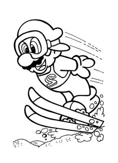 Super Mario Brothers Coloring Page New Super Mario Bros Coloring Pages Turtle Coloring Pages, Mermaid Coloring Pages, Coloring Pages To Print, Printable Coloring Pages, Colouring Pages, Coloring Pages For Kids, Adult Coloring, Coloring Books, Kids Coloring