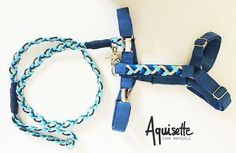 Handmade harness and leash for fashion dogs by Aquisette | pettorina e guinzaglio fatti a mano, creazione Aquisette