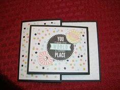 The Happy Stamper: Joy Fold card