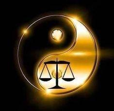 By Artist Unknown. Arte Yin Yang, Ying Y Yang, Yin Yang Art, Yin Yang Tattoos, Ying Yang Wallpaper, Foto Logo, Libra Art, Yin Yang Designs, Les Chakras