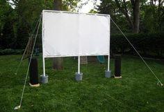 DIY Outdoor Theater