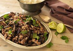 Vietnamese Pork and Eggplant