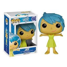 This Inside Out Joy Disney-Pixar Pop! Vinyl Figure features the happy side of Riley Anderson as the emotion voiced by Amy Poehler. It is approximately 3 3/4-inches tall. Disney Pixar's Inside Out animation is the story of a young girl who is ruled by her emotions, and the growing pains she encounters. The story is told from the perspective of the emotions inside her mind. #nesteduniverse