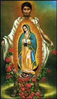 ''La Dame de Guadalupe s'est reproduite sur la tilma du jumeau Juan Diego à l'instant où il a déposé les fleurs célestes au pied de l'évêque qui demandait des preuves des apparitions pour accéder à la demande de la Dame céleste, pour la construction d'une église qui lui soit dédiée.  Cette tunique végétale qui ne dure qu'une vingtaine d'année est toujours en bonne conservation de nos jours et la peinture ne trouve pas une explication scientifique raisonnable d'après des chercheurs de la…