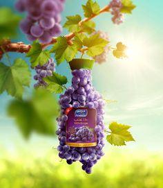 Almarai - Natural Grape on Behance