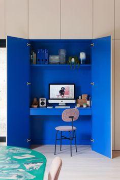 Home Office Design Ideas Home Design, Decor Interior Design, Interior Decorating, Design Ideas, Studio Design, Decorating Ideas, Decor Ideas, Room Interior, Colour Pop Interior