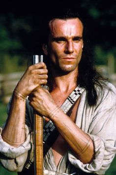 "The last of the mohicans - favorite movie - he's lovely and so cool...  ""I will find you!"""