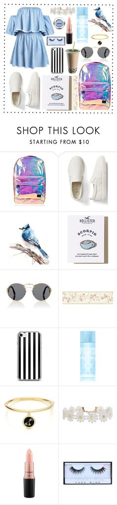 """""""chic style"""" by neelakshi-choudhury ❤ liked on Polyvore featuring Spiral, Gap, Hollister Co., Prada, Brewster Home Fashions, Victoria's Secret PINK, Kate Spade, Humble Chic, MAC Cosmetics and Huda Beauty"""