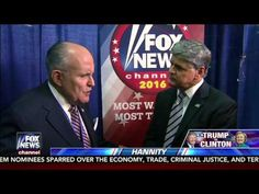 RUDY IS MAD AS HELL and Just Exposed Lester Holt as the WORST Moderator Ever - Subject: Politics