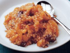 Melanderinpuuro Fun Desserts, Risotto, Macaroni And Cheese, Grains, Rice, Dinner, Ethnic Recipes, Food, Dining