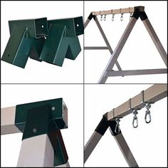 log cabin kinds, the most effective aspects of log cabin packages as well as sta… - Holzarbeiten Swing Set Parts, A Frame Swing Set, Porch Swing Frame, Diy Swing, Log Cabin Furniture, Rustic Wood Furniture, Steel Furniture, Cheap Tiny House, Modern Outdoor Sofas
