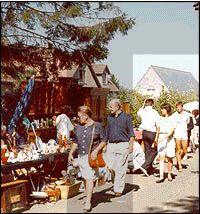 Temploux brocante markt 24-25 aug 2013 1500 stands een van de grootste van europa