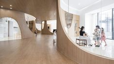 Archstudio makes minimalism playful for a children's art centre - News - Frameweb