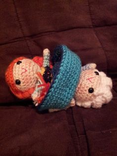 Anna & Elsa Topsy Turvy Doll