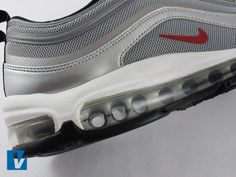 New Nike Air Max feature a full length Max Air unit for maximum impact protection. Check the Air unit is well made and clear. Make sure it has no marks or paint on it. New Nike Air, Nike Air Max, Air Max 97, Sneakers Nike, Pairs, Face, Check, Stuff To Buy, Shoes