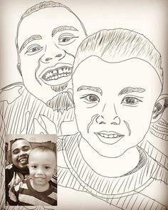 Fast Sketch Manual me and my nephew. #SlameTux #sketch