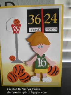 Everyday Paper Dolls - basketball