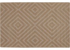 """Neutral wool area rugs - make any room look more fabulous the Larissa, 5'0""""x7'0"""""""