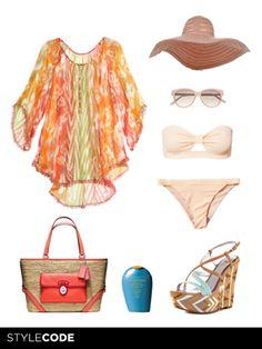 Look de #playa http://www.marie-claire.es/moda/consejos-moda/articulo/piezas-hot-para-un-look-de-playa